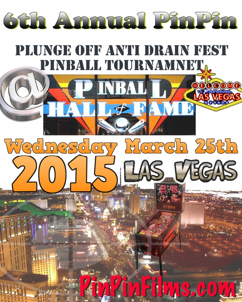 Vegas Pinball Tournament Flyer 6