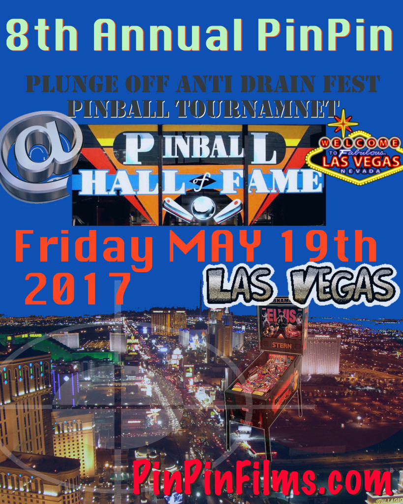Vegas Pinball Tournament Flyer 8