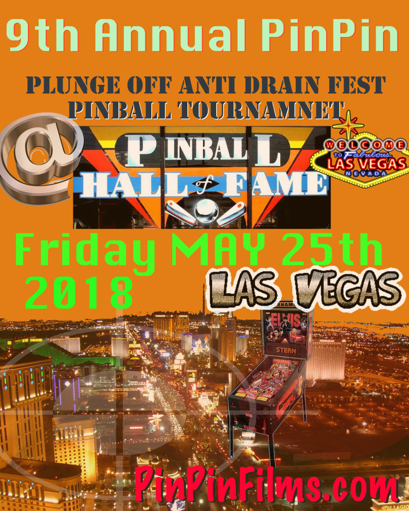 Vegas Pinball Tournament Flyer 9